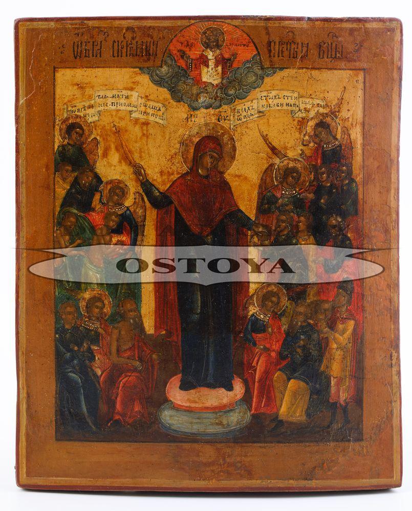 IKONA, MATKA BOŻA SKRABIASZCZA, Rosja, 1 poł. XIX w.