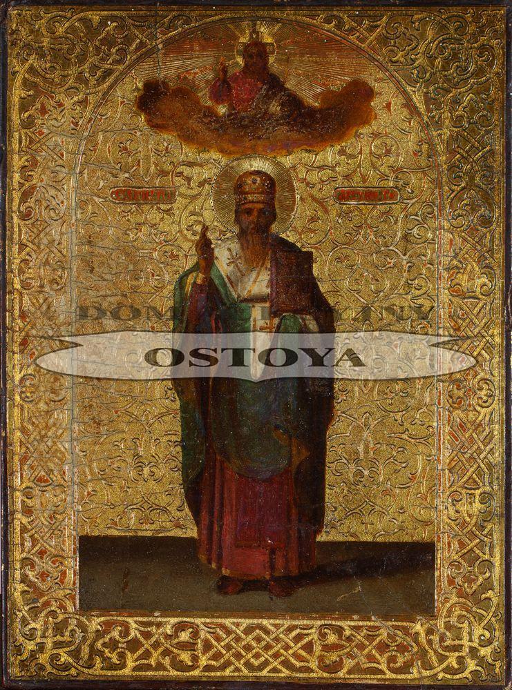 IKONA, ŚWIĘTY ARSENIJ, BISKUP TWERSKI, Rosja, k. XIX w.