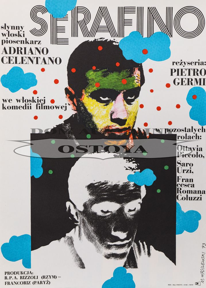 Plakat do filmu SERAFINO, 1973