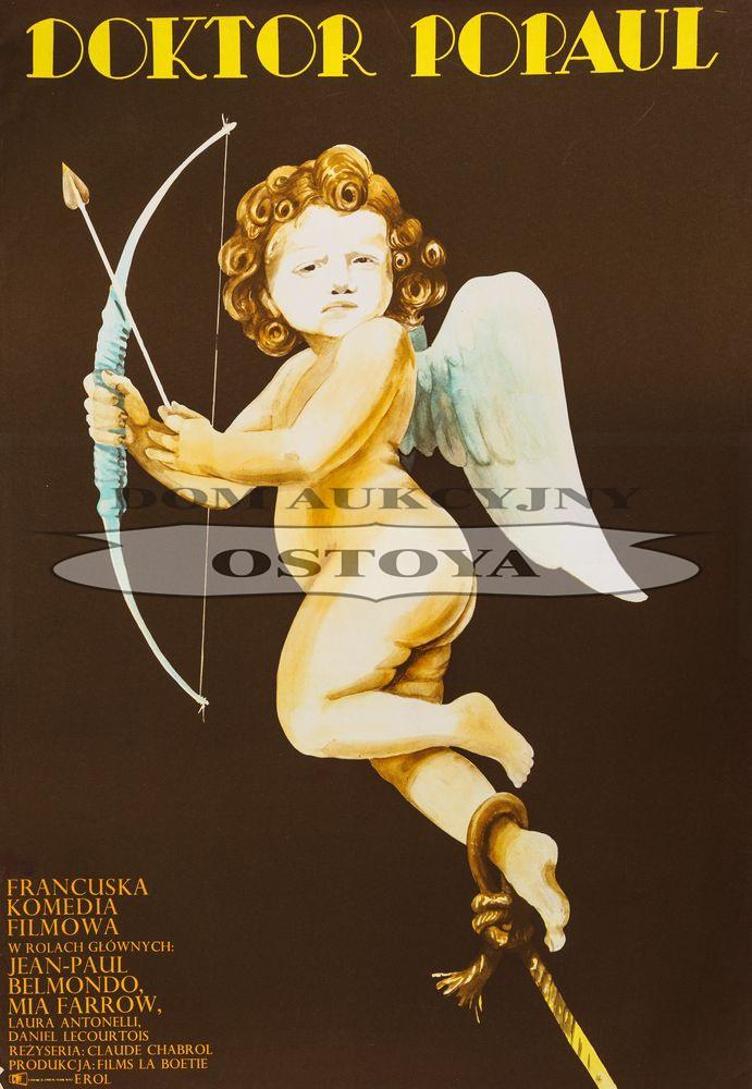 Plakat do filmu DOKTOR POPAUL, 1972