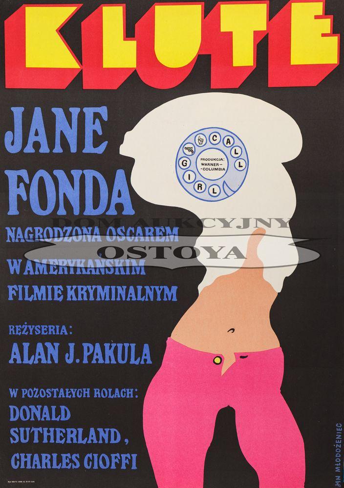 Plakat do filmu KLUTE, 1973