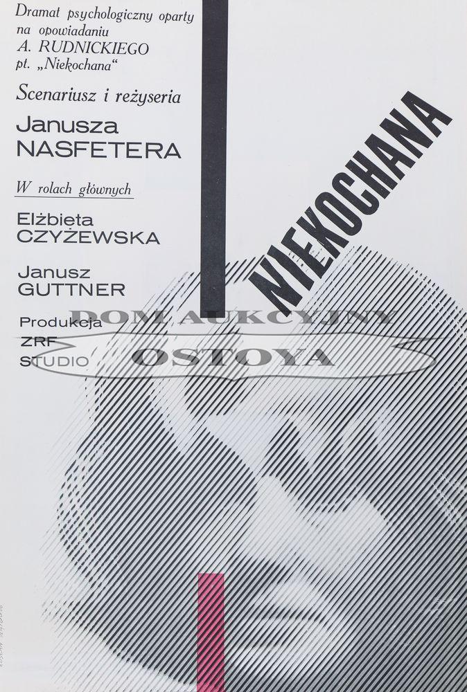 Plakat do filmu NIEKOCHANA, 1966
