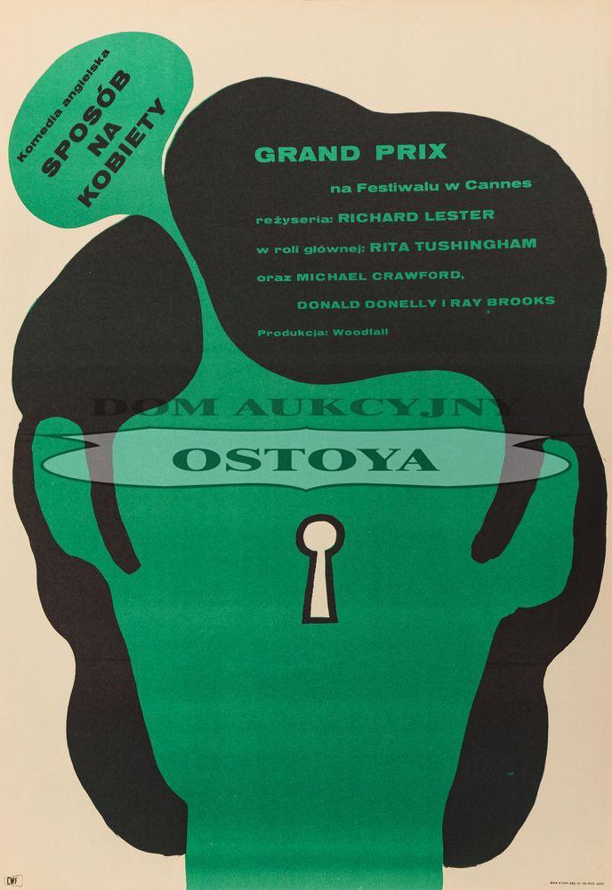 Plakat do filmu SPOSÓB NA KOBIETY, 1966