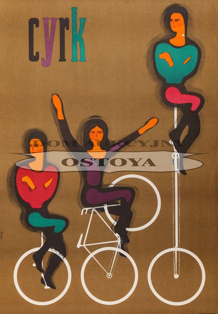 Plakat CYRK, 1964
