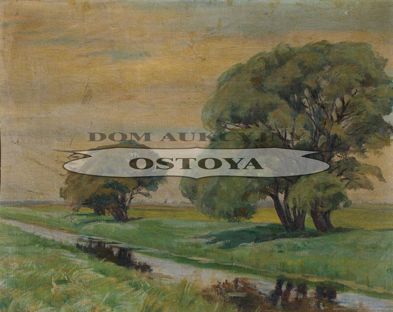 PEJZAŻ Z JUNISZEWA, 1924