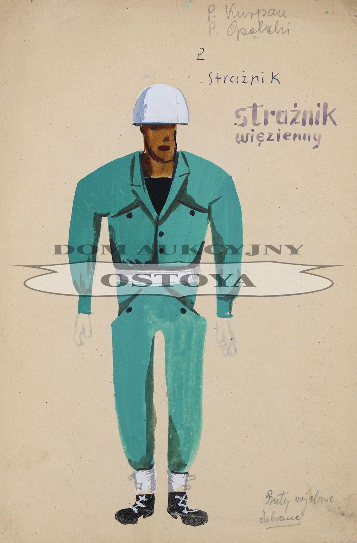 STRAŻNIK WIĘZIENNY, 1960