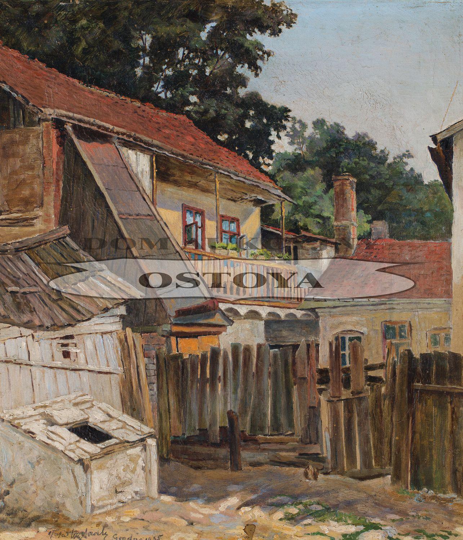 PODWÓRZE W GRODNIE, 1935