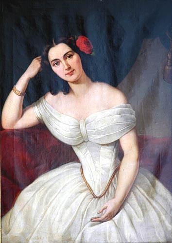 Portret Marii z Lemańskich Mohrowej