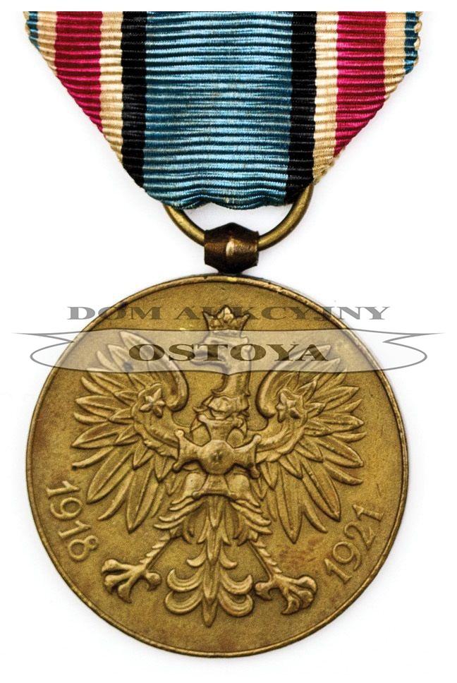 MEDAL PAMIĄTKOWY ZA WOJNĘ 1918-1921