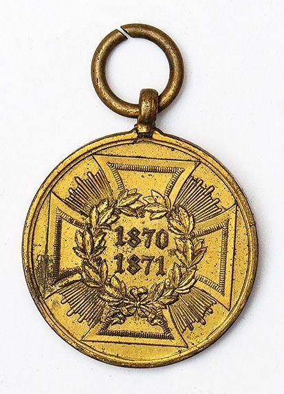 MEDAL NIEMIECKI ZA WOJNĘ Z FRANCJĄ 1870-71