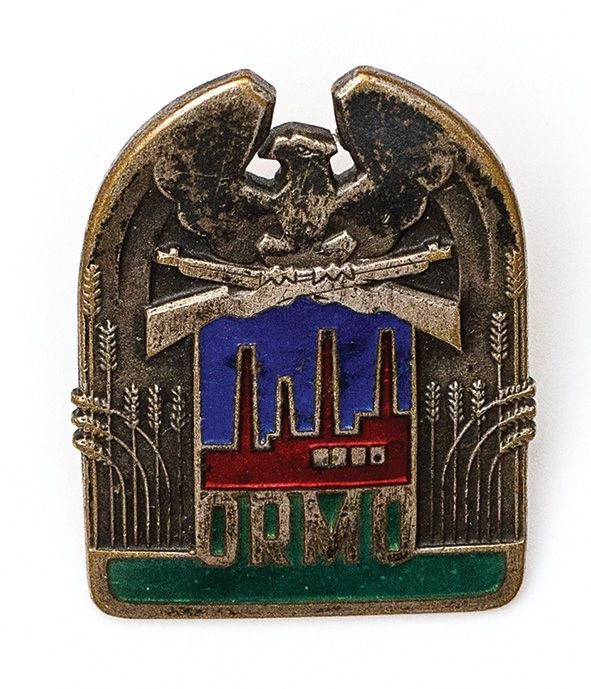Odznaka ORMO, PRL