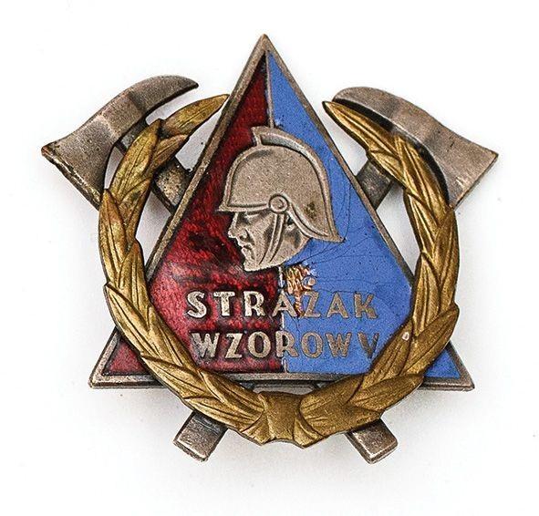 Odznaka, STRAŻAK WZOROWY, wz. 1959