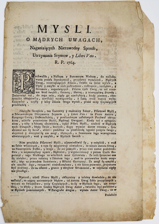 Wacław Piotr RZEWUSKI (1706 - 1779)