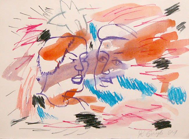 Bez tytułu, 1991