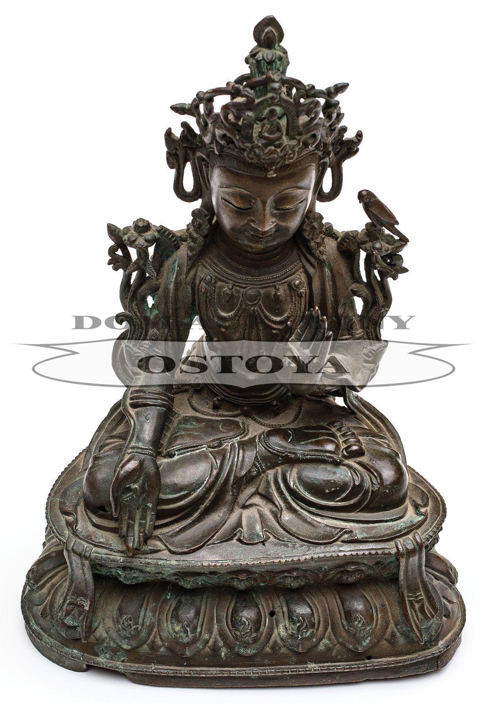 BIAŁY MANDJUSHRI, Chiny lub Tybet, 2 poł. XX w.