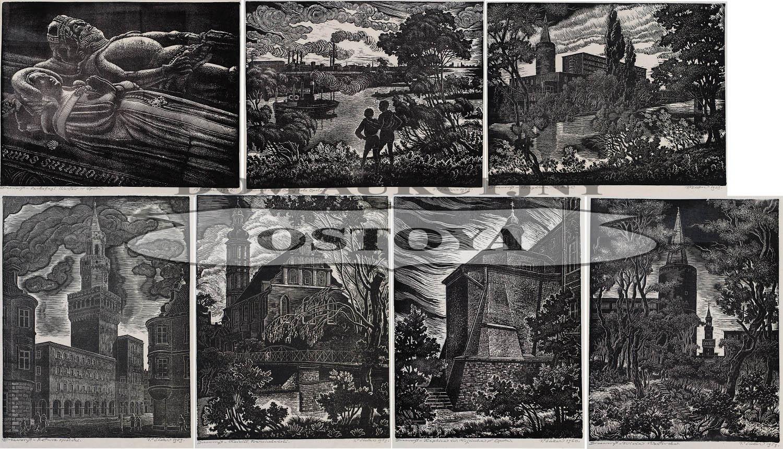9 DRZEWORYTÓW z teki OPOLE, 1960