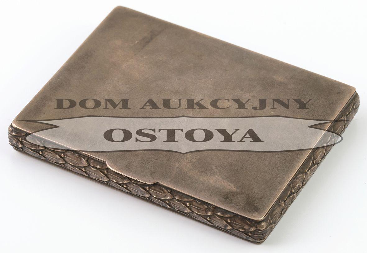 TABAKIERKA, Polska, Kraków, firma Glixelli, po 1921