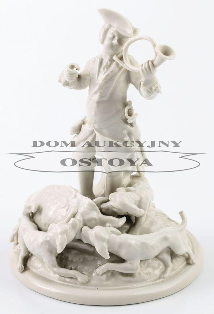 TRĘBACZ I OGARY PRZY DZIKU, Petersburg, Cesarska Wytwórnia porcelany, 1825 - 1855
