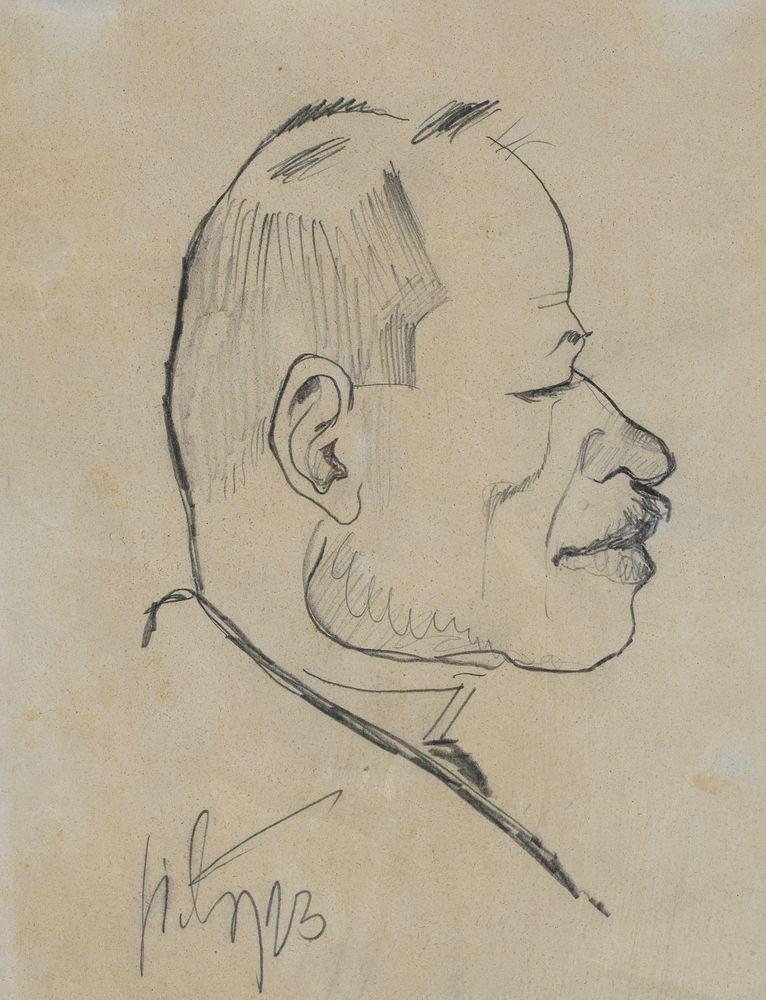 KARYKATURA JANA PTAŚNIKA, 1923