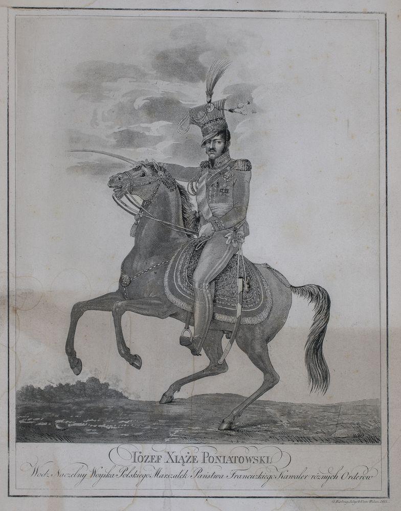 PORTRET KONNY KSIĘCIA JÓZEF PONIATOWSKIEGO, 1817
