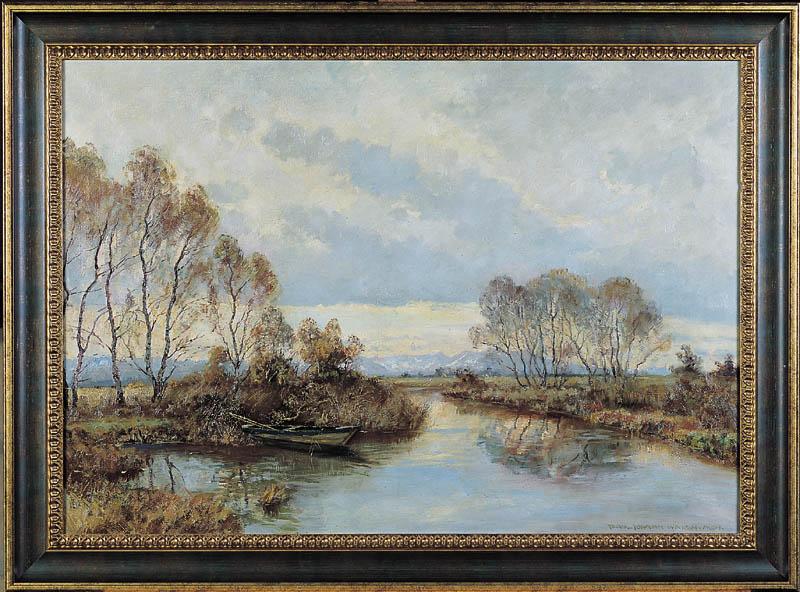 Krajobraz z Rzeką, po 1940