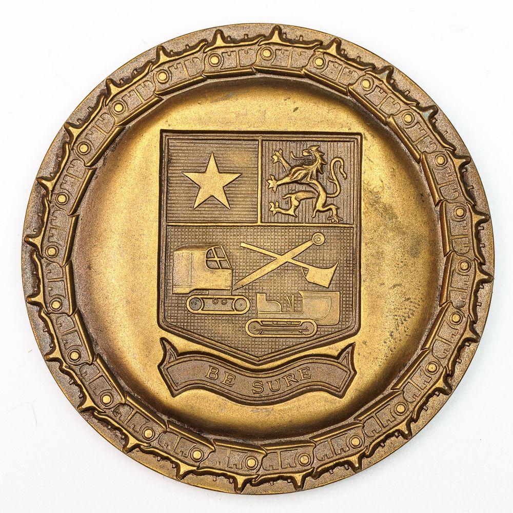 Medal, BERGERAT-DUTRY, 1955