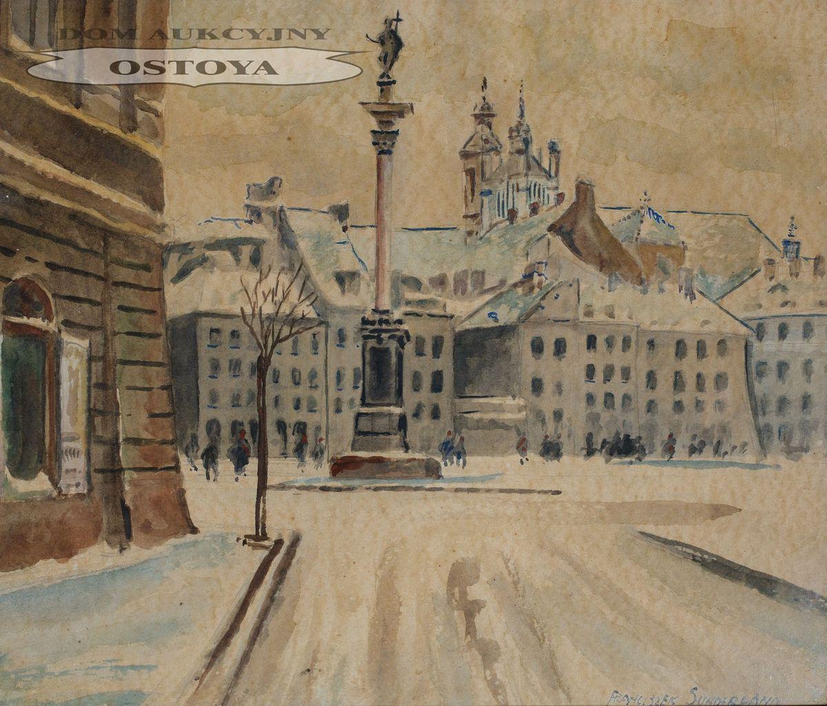 Plac ZAMKOWY, ok. 1930