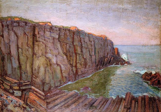 Skaliste wybrzeże morskie, 1926 - 27