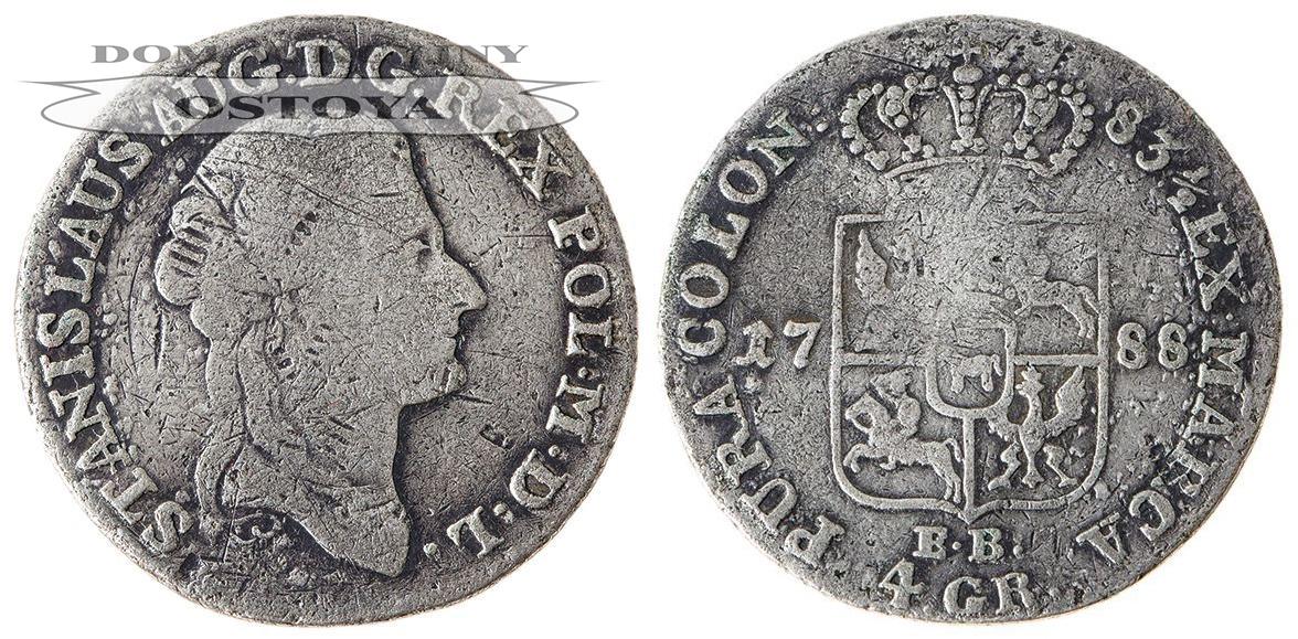 Stanisław August Poniatowski, 4 grosze 1788