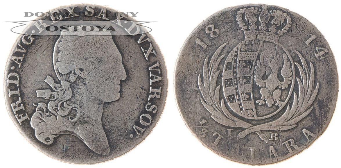 Księstwo Warszawskie, 1/3 Talara 1814