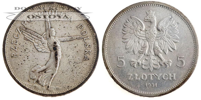 II Rzeczpospolita, 5 Złotych 1931