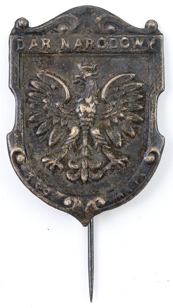 ODZNAKA KWESTARSKA DAR NARODOWY 3GO MAJA, Polska, po 1927