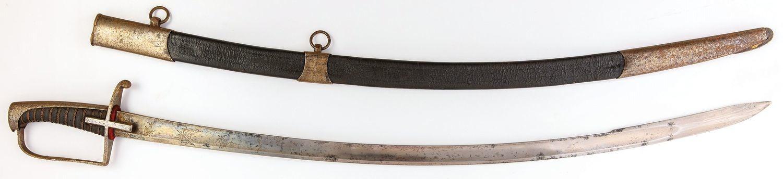 SZABLA ROSYJSKIEJ LEKKIEJ KAWALERII, wz. 1798