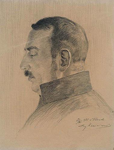 PORTRET GEN. STEFANA PASŁAWSKIEGO, 1920
