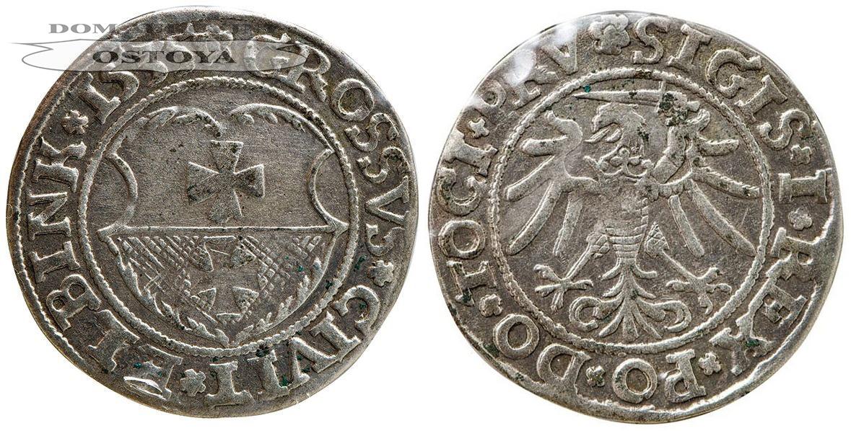 Zygmunt I Stary, Grosz Elbląski 1535, Elbląg