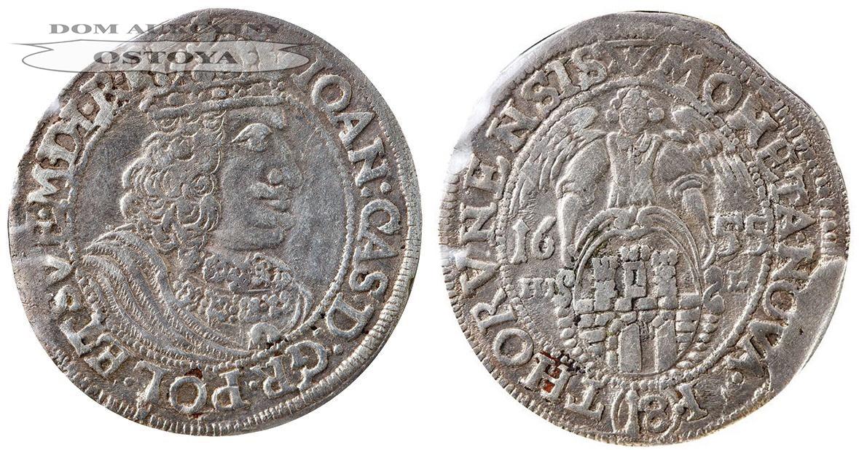 Jan Kazimierz, Ort Toruński 1655, Toruń