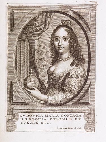 Królowa Ludwika Maria Gonzaga, po 1645