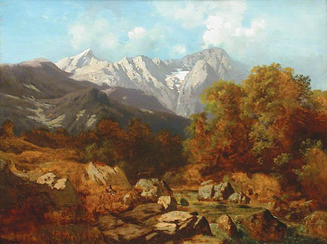 Pejzaż górski, 1892