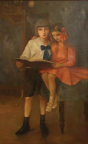 Portret rodzeństwa, 1912