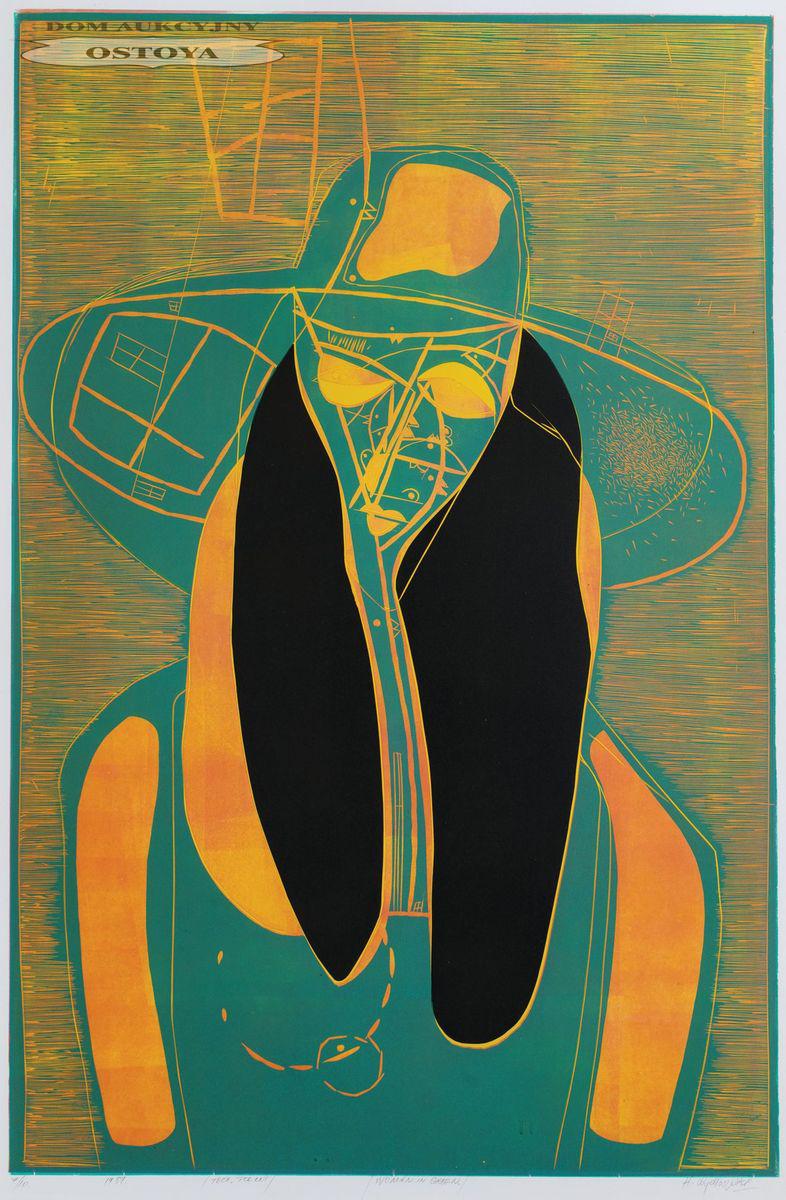 WOMAN IN GREEN, 1989