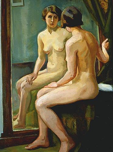 Akt w lustrze, 1926