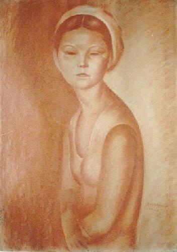 Portret dziewczyny (1932)