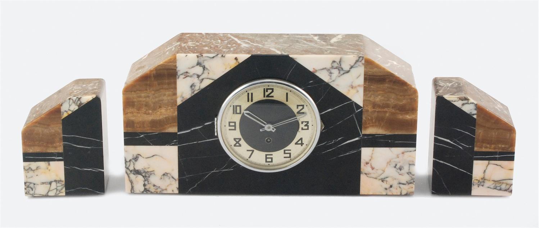 Zegar kominkowy art-deco