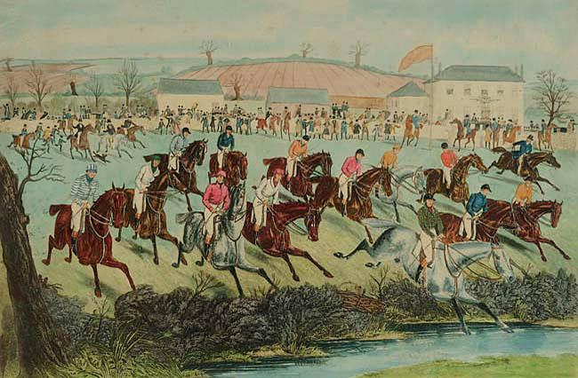 WIELKA GONITWA W CHELTENHAM, 1841