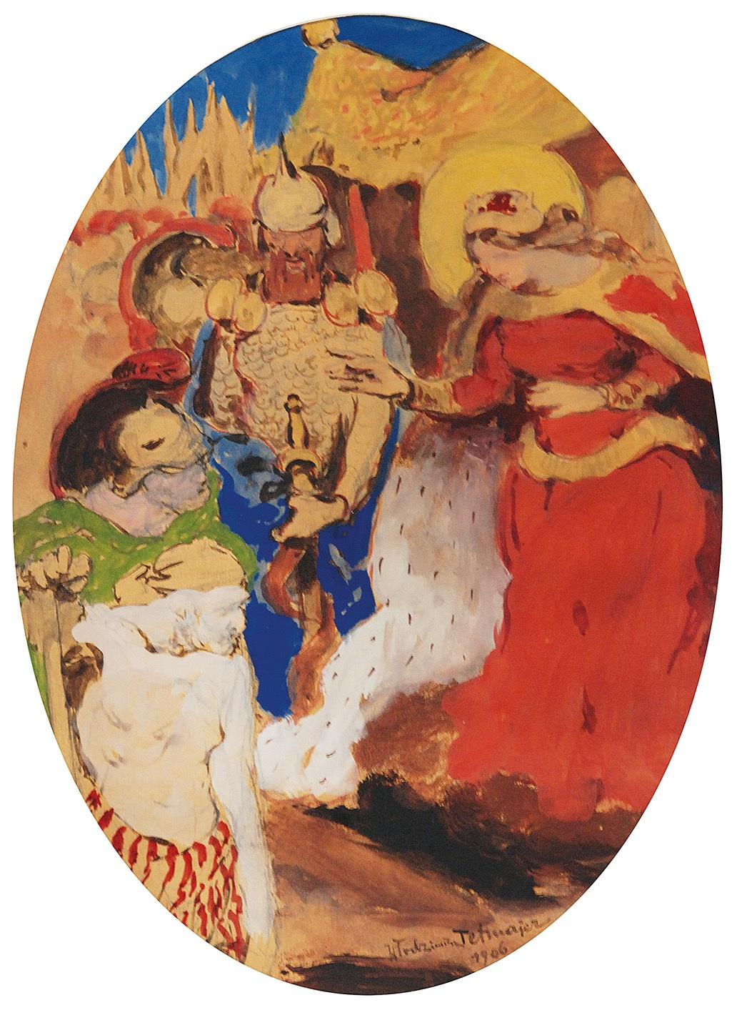 Scena historyczna, 1906