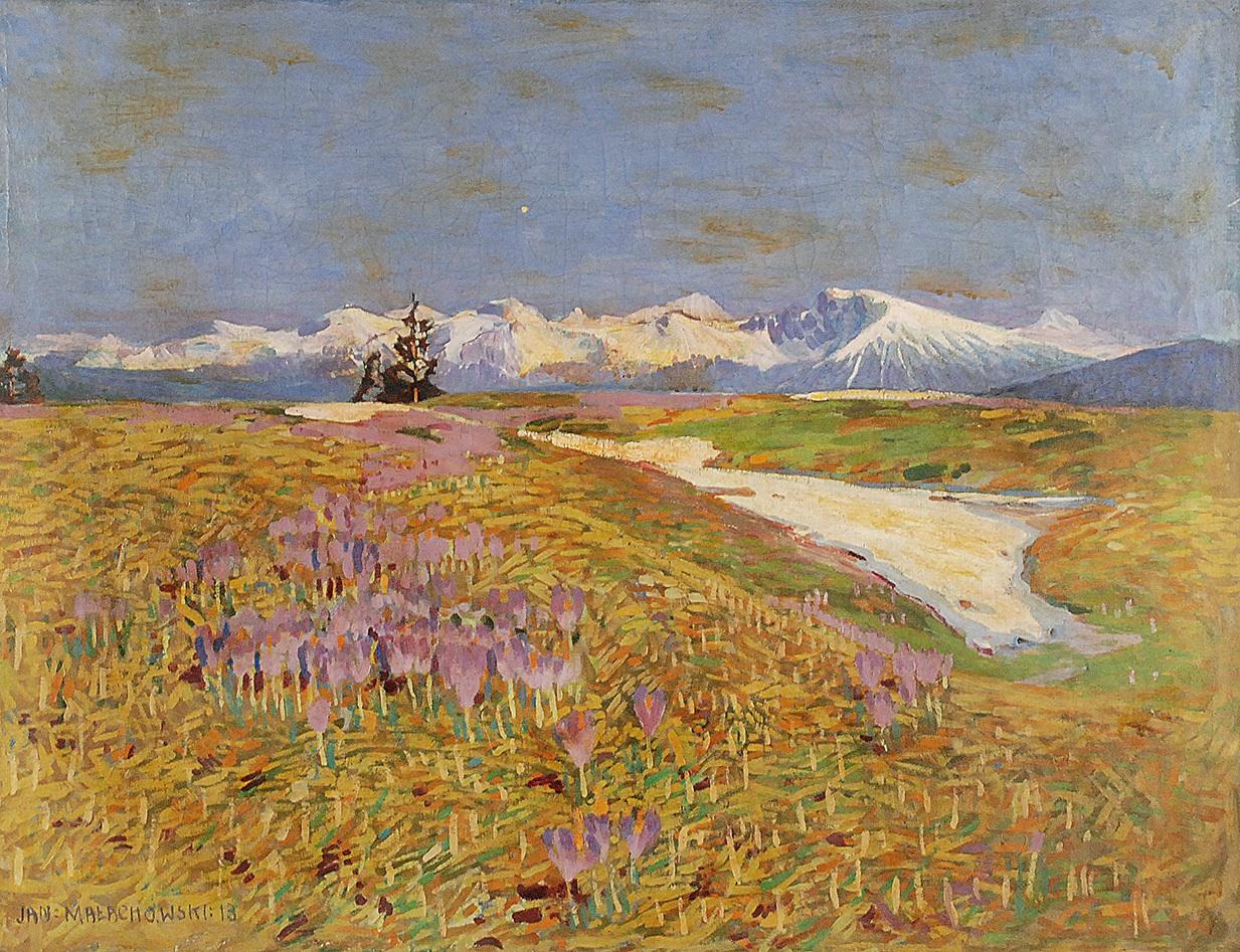 Krajobraz, 1913