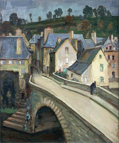 Francuskie miasteczko, ok. 1910