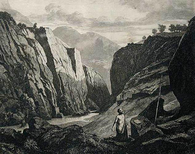 Pejzaż ze św. Hieronimem