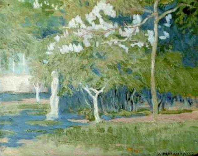 Pejzaż wiosenny (1921)