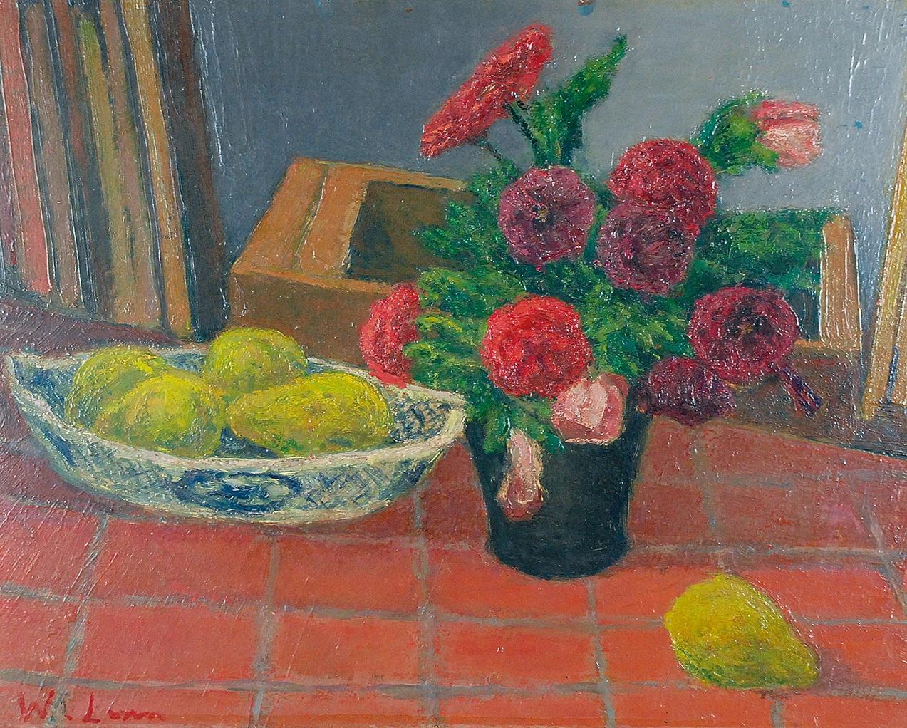 Martwa natura - kwiaty, ok. 1924